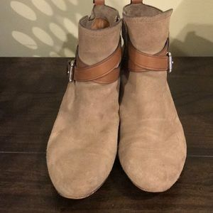 Coach Pauline Ankle Boot Suede